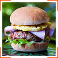 Гавайские бургеры со свининой