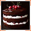 """Вишневий торт """"Чорний ліс"""""""