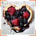 Сладкие ягодные мини-тарталетки