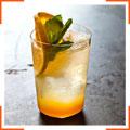 Апельсиново-имбирная содовая с мятой