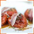 Запеченные помидоры с анчоусами