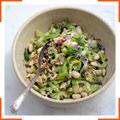 Салат с сельдереем и пармезаном