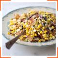Кукурузный салат с кокосом