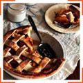 Персиковый пирог с ванилью и корицей