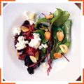 Салат со свеклой и шевре