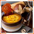 Пряный тыквенный суп с прошутто