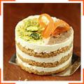 Морквяно-апельсинові бісквітні тістечка