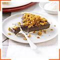 Шоколадний пиріг з топпінгом