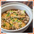 Тушеный сыр тофу со свининой
