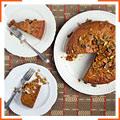 Пряний гарбузовий пиріг з маскарпоне