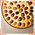 Виноградно-миндальный пирог с оливковым маслом