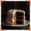 Тыквенный торт со сливочной глазурью