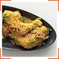 Курица в чесночно-миндальном соусе