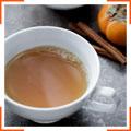 Пряный чай с хурмой и куркумой