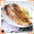 Запечений лосось зі спеціями