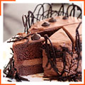 Шоколадный баварский торт
