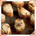 Уэльские яблочно-сырные канапе