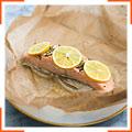 Запеченный лосось с фенхелем