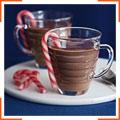 Горячий шоколад с привкусом мяты