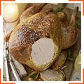 Индейка, запеченная в цитрусовом сливочном масле