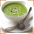 Суп з брокколі і блакитним сиром
