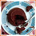 Шоколадний торт з рідкою начинкою