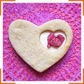 Печиво з рожевою водою і вершковим крем-сиром
