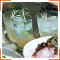 Розмариновый шипучий лимонад с водкой