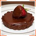 Корзинки с шоколадной трюфельной начинкой