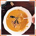 Гарбузовий суп  з шавлією і хлібними крихтами