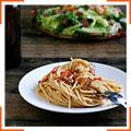 Спагетті карбонара з беконом і пивом