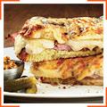 Горячие сэндвичи с грибами и соусом Морней