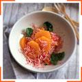 Салат с редисом и апельсинами