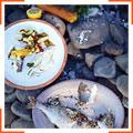 Запеченная в соли рыба