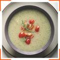 Суп з фенхеля, цукіні та томатів