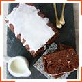 Шоколадно-грушевий кекс