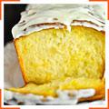 Лимонний кекс з глазур'ю