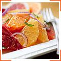 Зимний цитрусовый салат с медовой заправкой