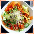 """Овощной салат """"Лингвине"""""""
