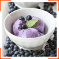 Чернично-лимонное мороженое