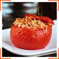 Фаршированные помидоры с пармезаном