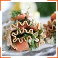 Лазанья роллы с копченым лососем