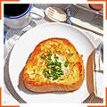 Французские тосты с яичной начинкой