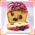Літній фруктово-ягідний кекс