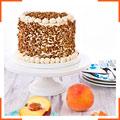 Персиковий королівський торт