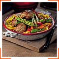 Паста з фрикадельками та овочами